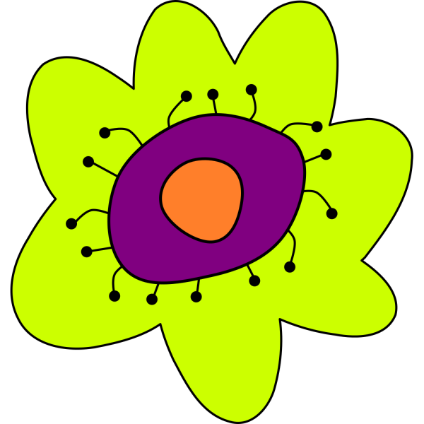 Cartoon Flower PNG Clip art