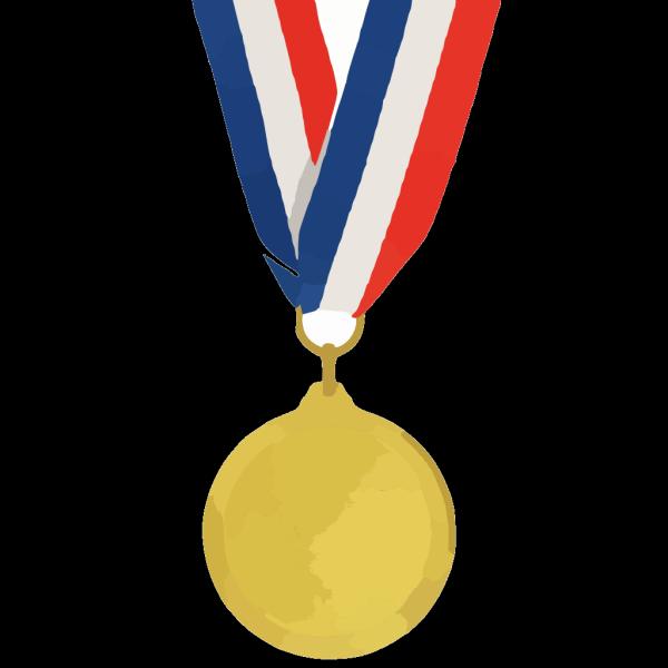 Gold Medal PNG Clip art