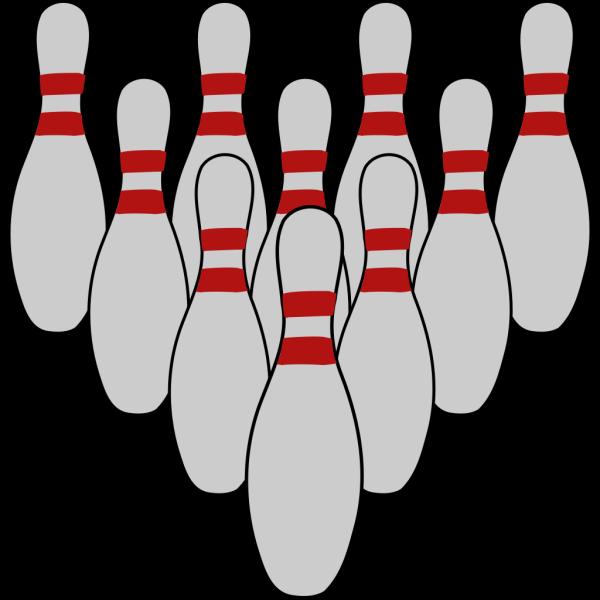 Bowling Tenpins PNG Clip art