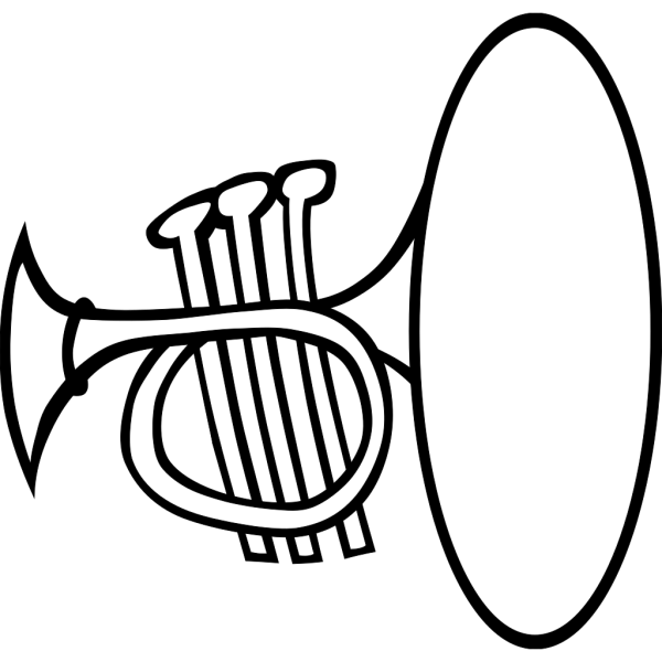 Silly Trumpet PNG Clip art