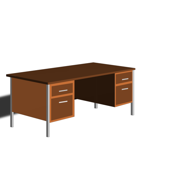 An Office Desk PNG Clip art