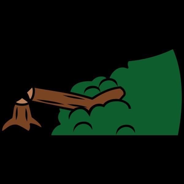 Broken Tree PNG Clip art