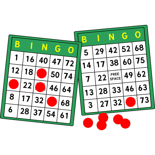 Bingo Cards PNG images