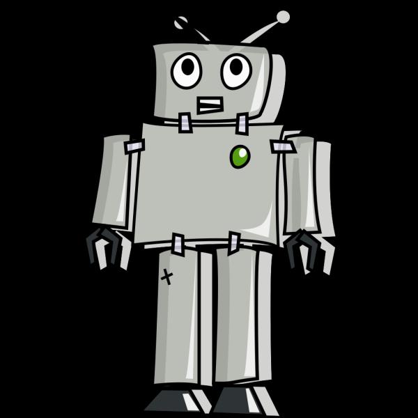 Cartoon Robot PNG Clip art
