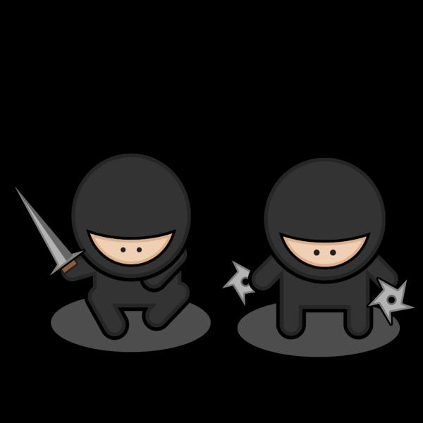 Cartoon Ninja 2 PNG Clip art