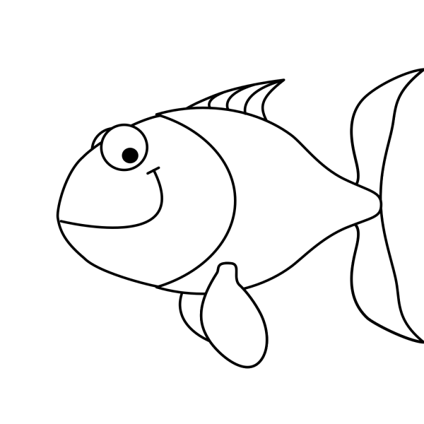 Cartoon Fish PNG clipart