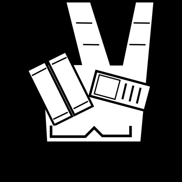 Victory Symbol PNG Clip art