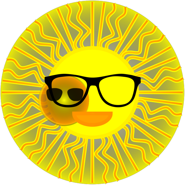 Sun With Sunglasses PNG Clip art