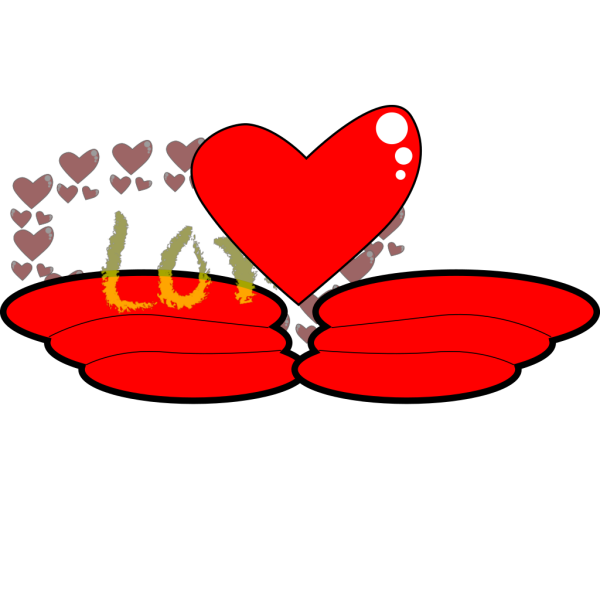 Love Wing PNG Clip art