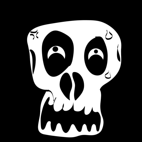 Funny Skull PNG Clip art