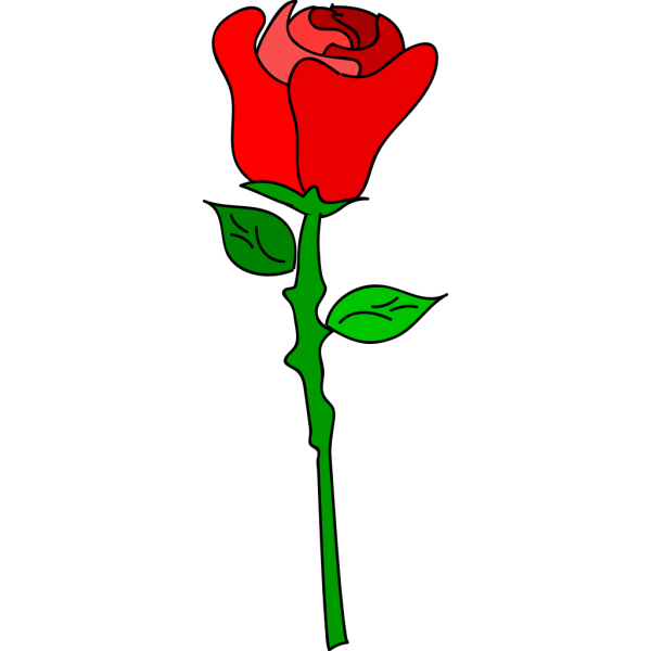 Free Hand Rose PNG Clip art