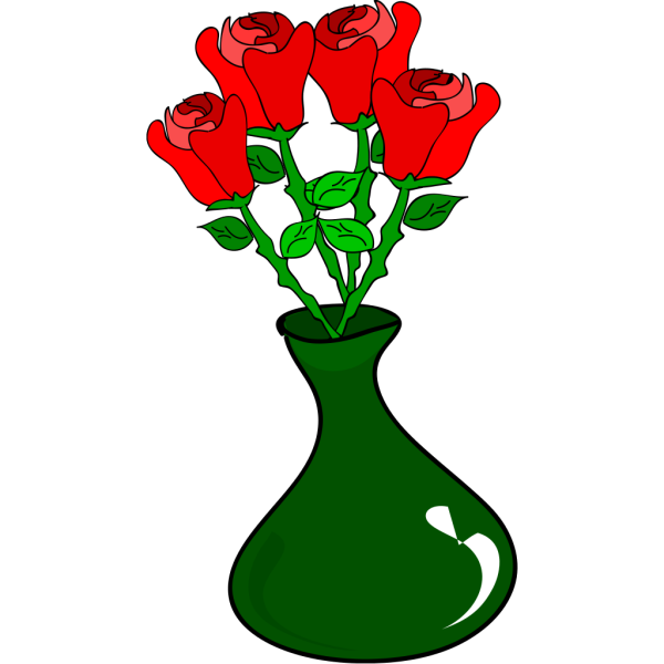 Free Hand Roses PNG Clip art