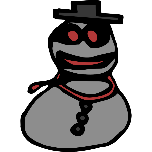 Snowman PNG icons