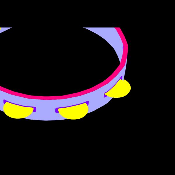 Tambourine PNG Clip art