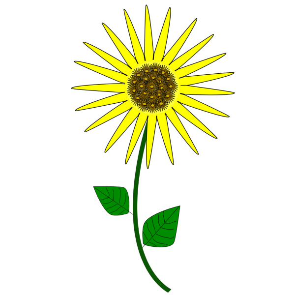 Sunflower Cartoon PNG Clip art