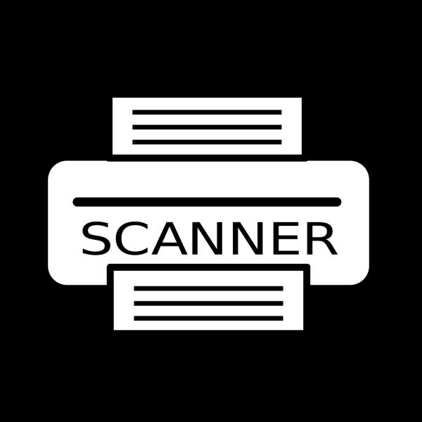 Sheet Fed Scanner PNG Clip art