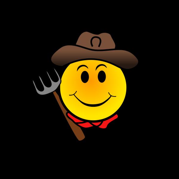 Farmer Smiley PNG Clip art