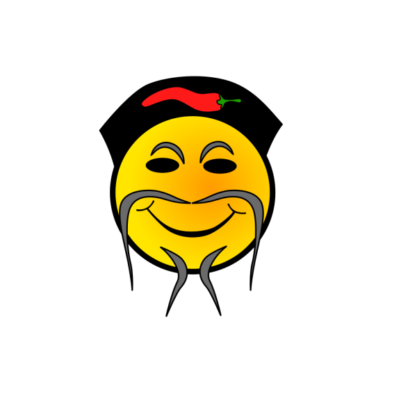 Chinese Cook Smiley PNG Clip art