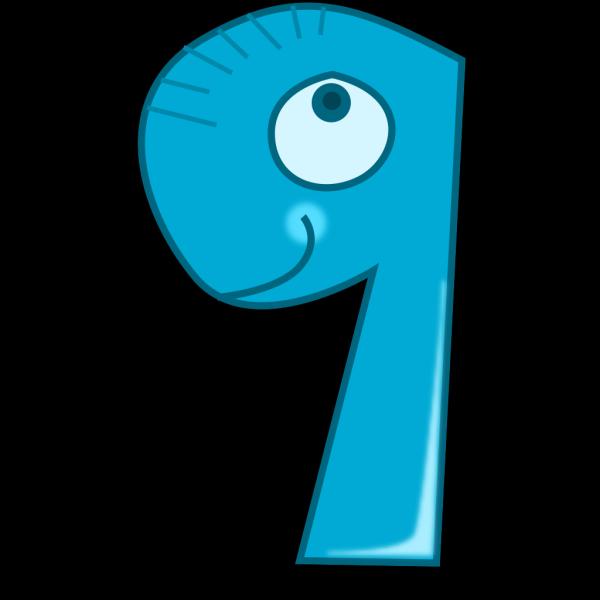 Animal Number Nine PNG Clip art