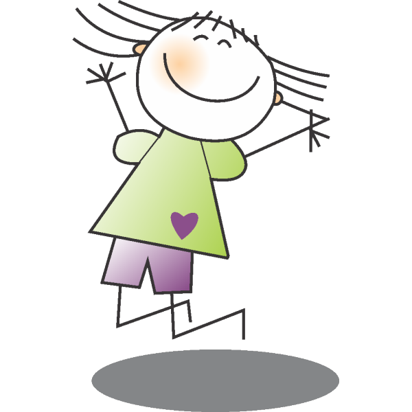 Jumping Girl 2 PNG Clip art