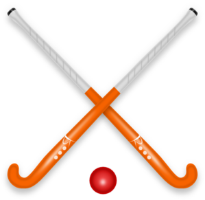 Hockey Stick & Ball PNG Clip art