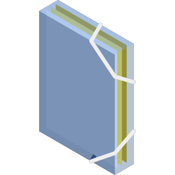 Opaque Folder PNG Clip art
