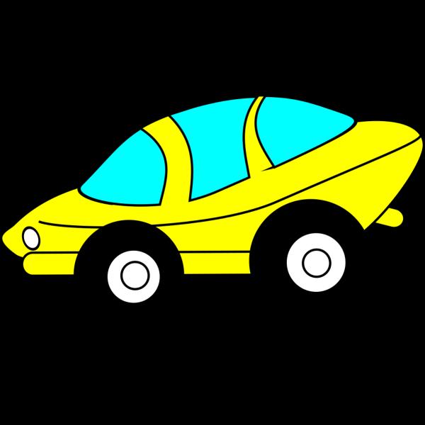 Cartoon Sporty Car PNG Clip art