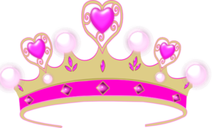 Princess Crown Heart PNG Clip art