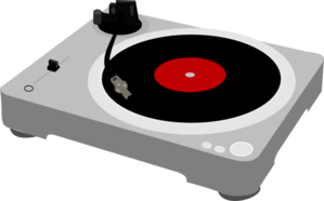 Dj Turntable PNG Clip art