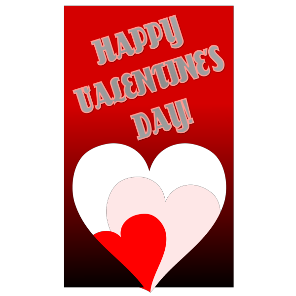 Happy Valentines Day Card PNG images