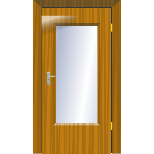 Office Glass Door PNG Clip art