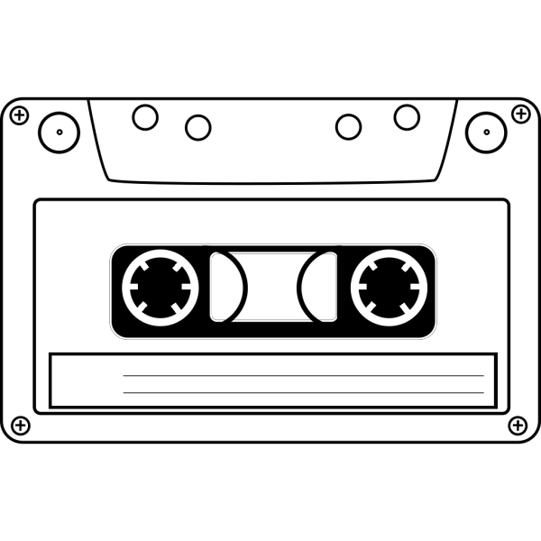 Cassette Audio Tape PNG Clip art