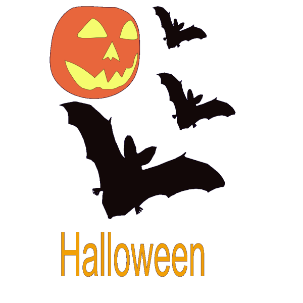 Halloween Scene PNG Clip art