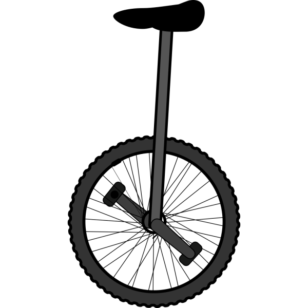 Unicycle PNG Clip art