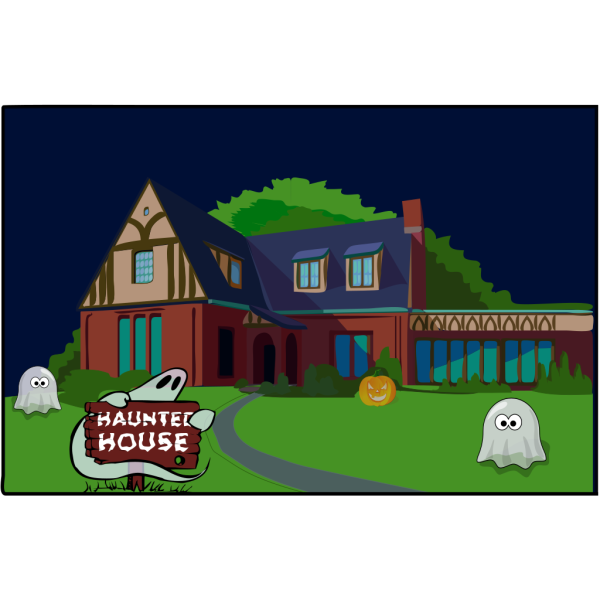Haunted House PNG Clip art