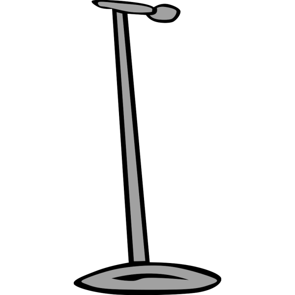 Microphone Stand PNG Clip art