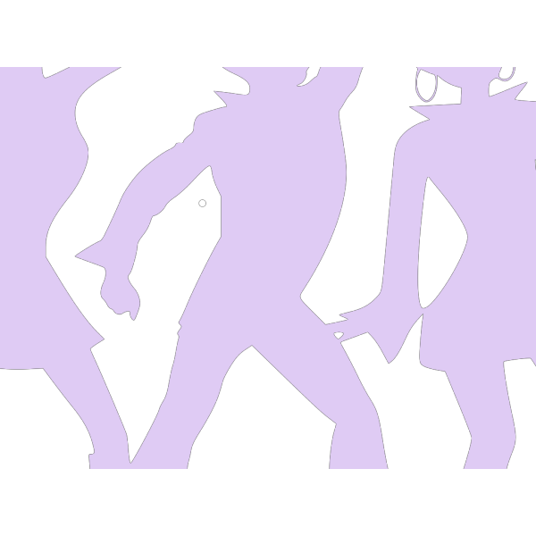 Dancing People By Markus PNG Clip art