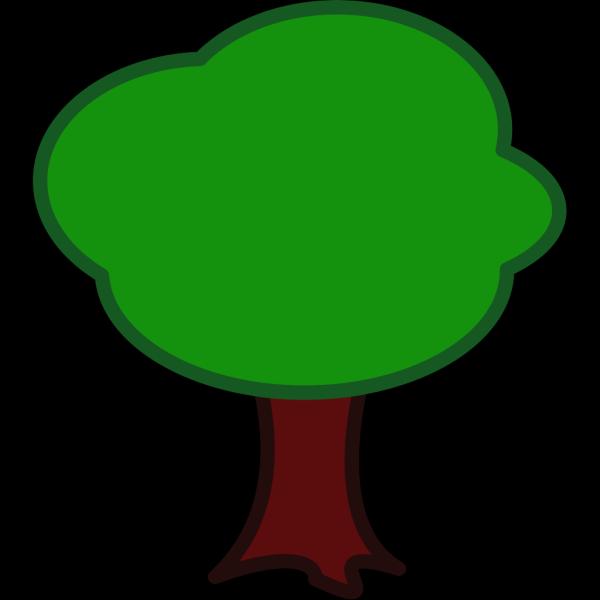 Cartoon Tree Flying Bird PNG Clip art