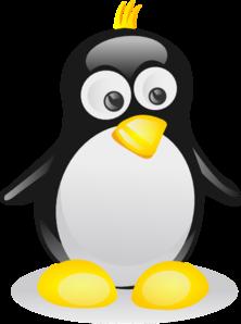 Tux Penguin 3 PNG Clip art
