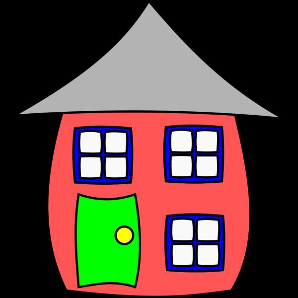 Cartoon House PNG Clip art