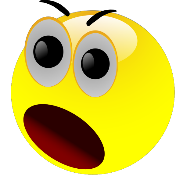 Smiley Astonished PNG Clip art