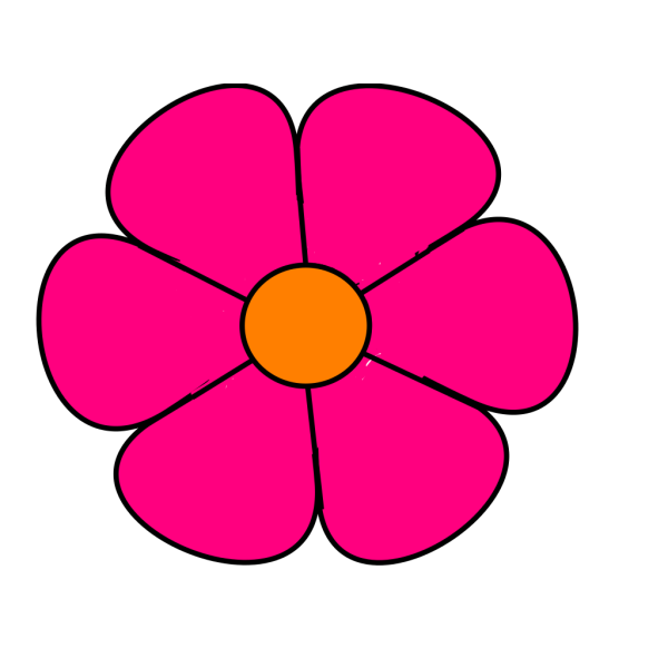 Pink Flower 2 PNG icons