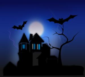 Spooky House PNG Clip art
