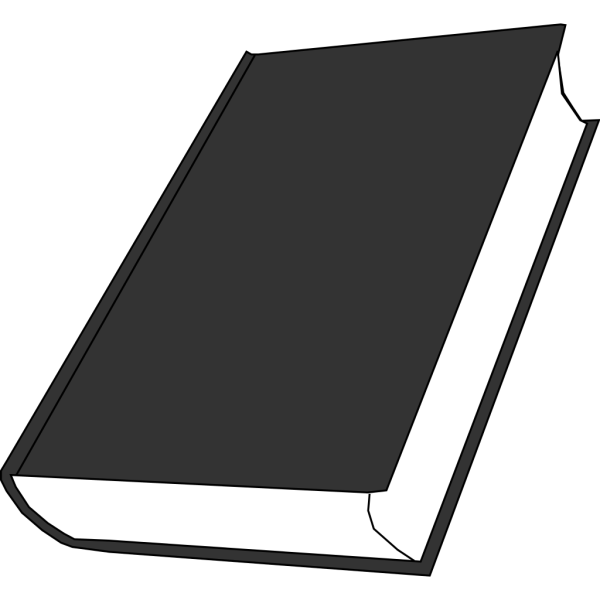 Closed Book 5 PNG Clip art