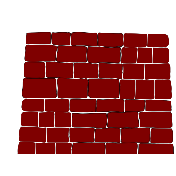 Red Brick Wall PNG Clip art