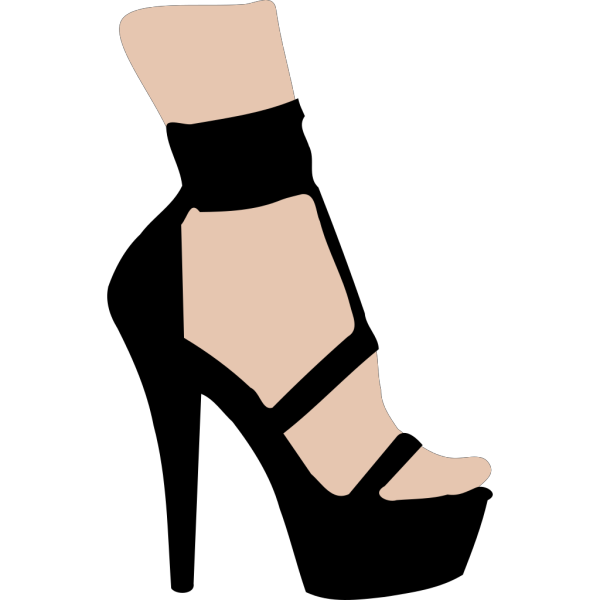 High Heeled Shoe PNG Clip art