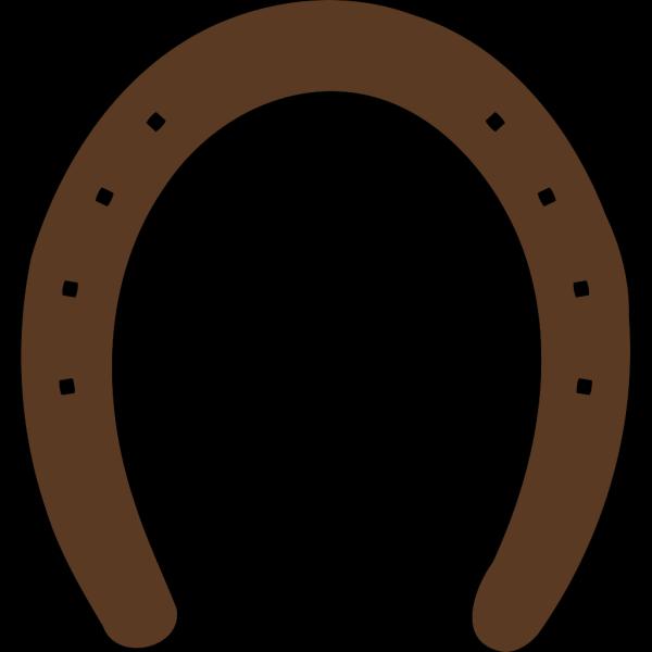 Horse Shoe Silhouette PNG Clip art