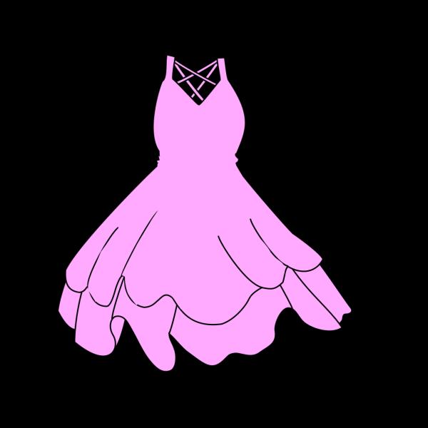 Pink Dress PNG Clip art