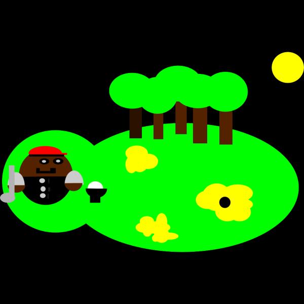 Cartoon Golf Player PNG Clip art