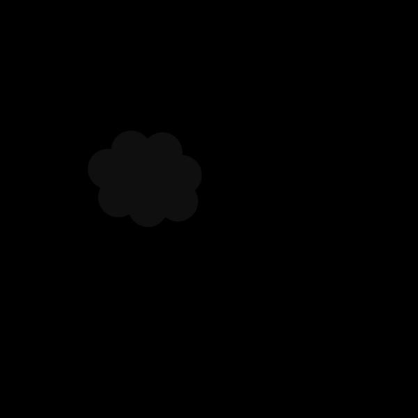 Gray Cloud PNG Clip art